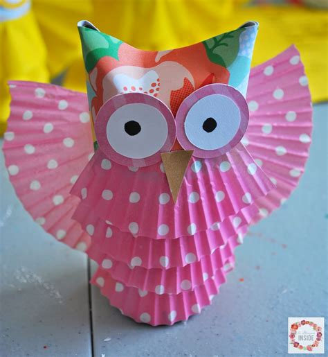 owl craft toilet paper roll a glimpse inside toilet paper owls animal crafts