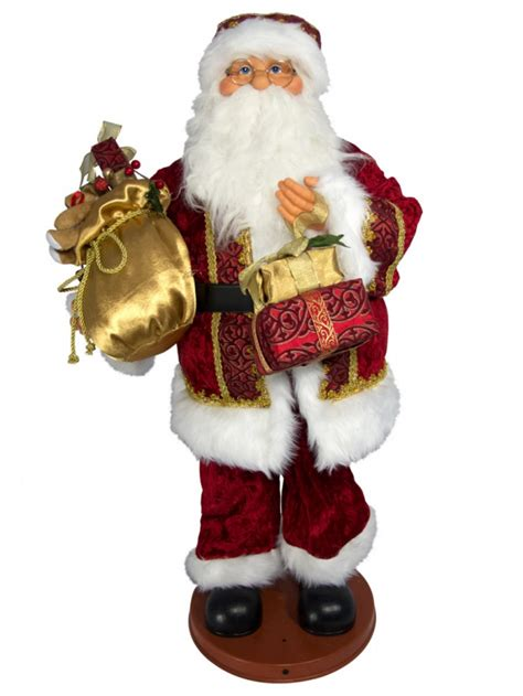 santa parts dancing singing singing hip swinging santa with presents musical animation 95cm animation toys the