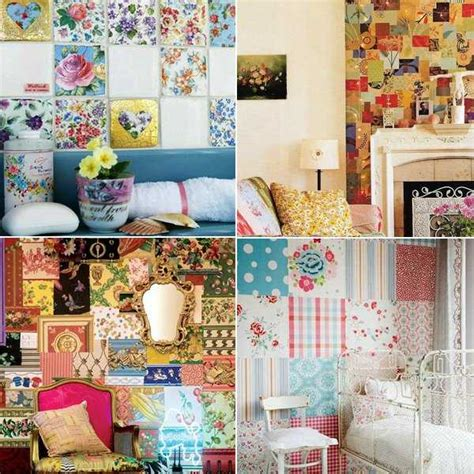 Patchwork Decorations - patchwork wall decor ideas 16 striking accent wall designs