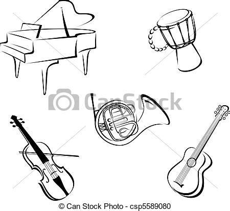 clipart strumenti musicali disegni di strumenti musicali portalebambini