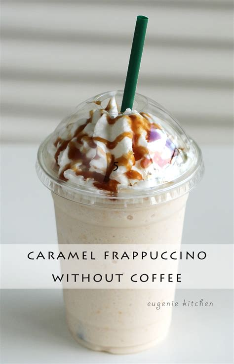 how to make caramel frappuccino without coffee copycat
