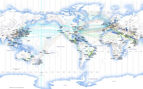united route map image united airlines international route map