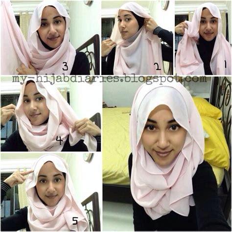tutorial hijab simple untuk ootd hijab tutorial hijabtutorial simple hijab tutorial step