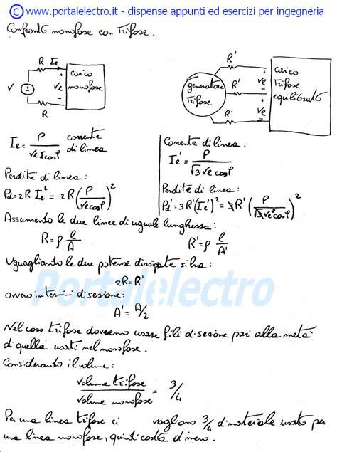 dispense di elettrotecnica formulario di elettrotecnica sul sistema trifase