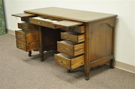 Country Style Writing Desk Or Quality Custom Made Country Or Louis Xv Style Knee