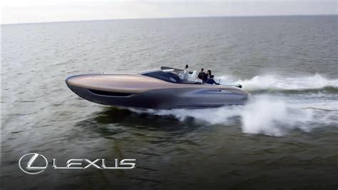 lexus boat lexus sport yacht concept revealed youtube