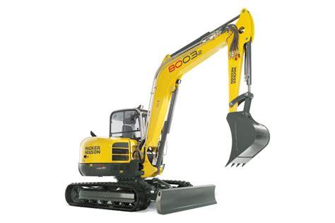Alat Berat Excavator wacker neuson excavators 8003 alat berat