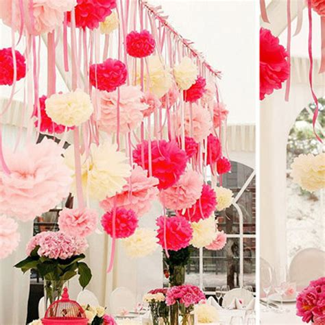 paper flowers ball garland decoration wedding birthday