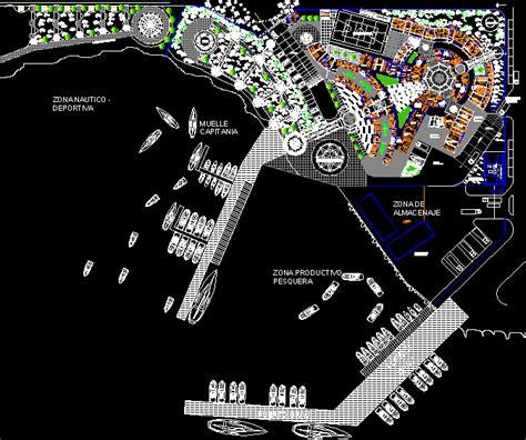 port captain dwg block  autocad designs cad