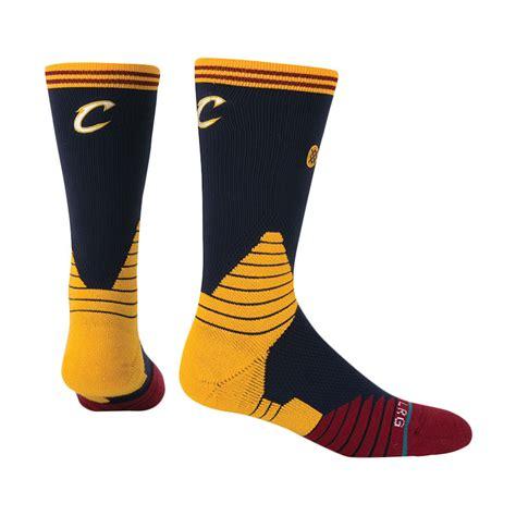 Kaos Cavaliers jual stance nba cleveland cavaliers kuning kaos kaki