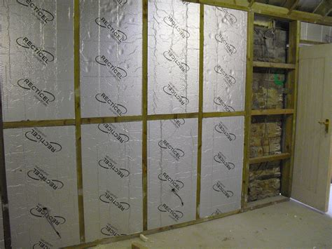Shed Insulation Price by Barn Insulation Almost Completed And Electric Cables Being