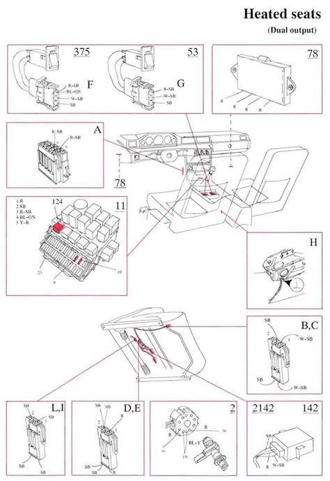volvo 940 wiring diagram seat wiring free