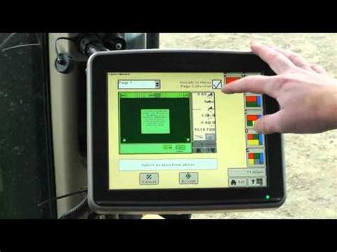 a how to guide on deere greenstar home page setup