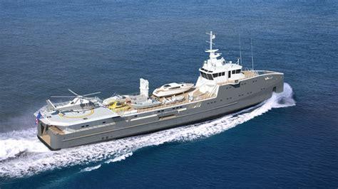 Expedition E 6735 M Silver Blue 6711 yacht damen superyacht times