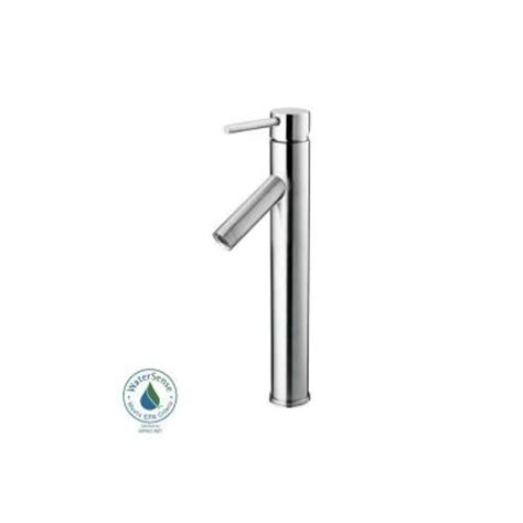 Glacier Bay Vessel Faucet by Glacier Bay Single 1 Handle Bathroom Vessel Faucet In