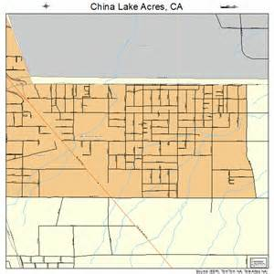 china lake acres california map 0613157