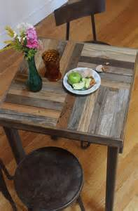 Reclaimed Wood Bistro Table Made Reclaimed Pallet And Barn Wood Pub Bistro Kitchen Table Crux By New Antiquity