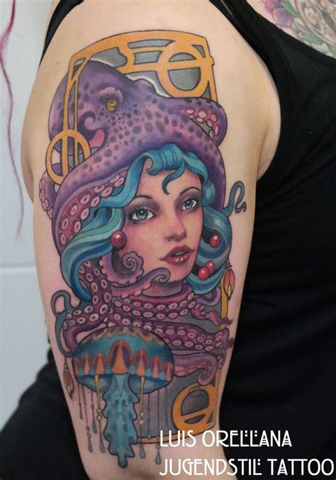 tattoo nouveau 1000 images about jugendstil nouveau neo