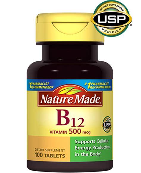 Pil Vitamin B12 nature made vitamin b12 500 mcg tablet