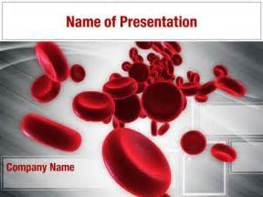 blood powerpoint template blood cells powerpoint templates