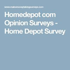 Home Depot Survey by The World S Catalog Of Ideas