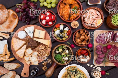 images of food tapas food stock photo more pictures of above istock