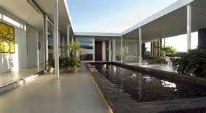 House Plans Single Level elegante casa alrededor de un patio