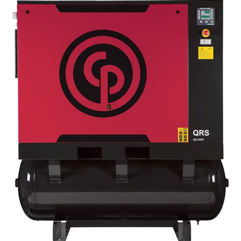 free shipping chicago pneumatic rotary air compressor with dryer model qrs25hpd