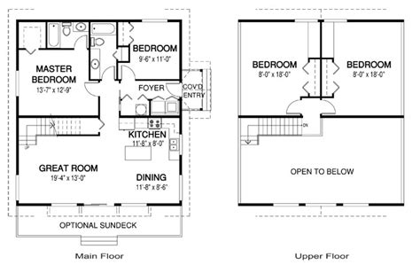 cedar cabin floor plans house plans the lark 1 cedar homes