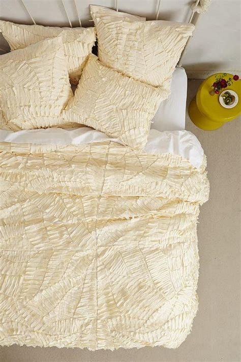 pattern texture duvet cream sliced pattern textured duvet cover