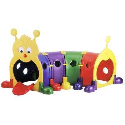 buitenspeelgoed rups kids play tunnel playground daycare preschool climbing gym