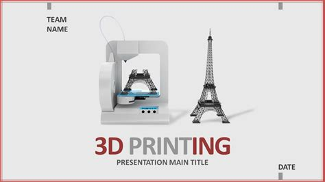 3d print templates 3d printing ppt wide goodpello