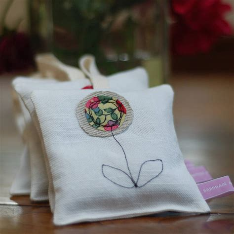 Handmade Lavender Bags - handmade decorative lavender bag by handmade at poshyarns