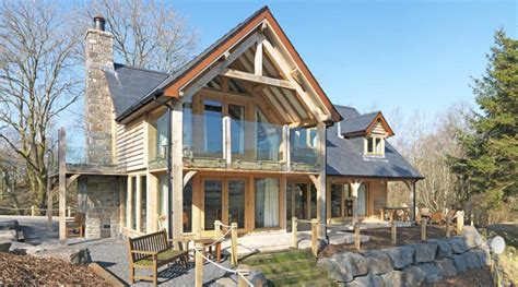 what is an a frame house case study pearce contemporary home welsh oak frame
