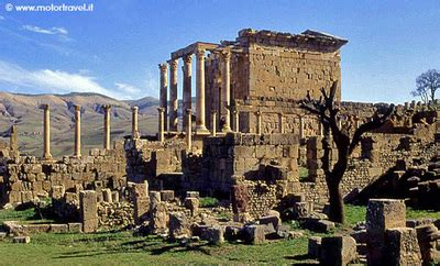 consolato algerino roma algeria la citt 224 romana di djemila motortravel