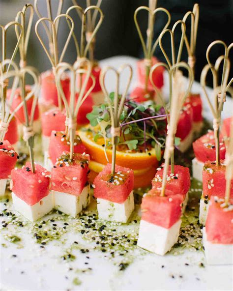 awesome bridal shower food 20 delicious bites to serve at your bridal shower martha