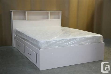 White Size Bed For Sale White Size Captains Bed Frame And Headboard Brand