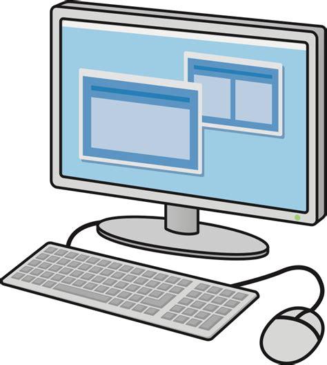 clipart computer clipart desktop computer 3