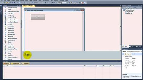 online tutorial vb net vb net how to create a forum online time adder tutorial