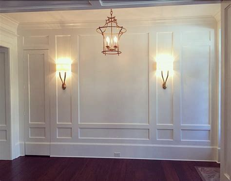 innovative dining room wainscoting all home decorations using picture frames for wainscoting image collections