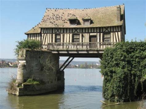 house over water radical redesigns bridge to home building conversions