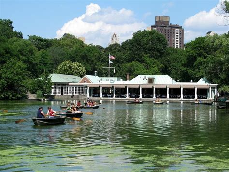 Central Park Boathouse I Heart New York Pinterest