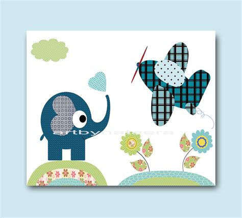 Baby Boy Nursery Wall Decor For Room Wall Baby Boy Nursery Room Decor
