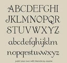 french chic alphabet stencil shabby font 1 034 caps amp lc