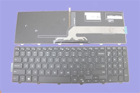 Keyboard Laptop Dell Inspiron new us backlit keyboard for dell inspiron 17 5000 series 5758 i5757 laptop black ebay