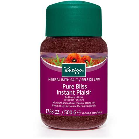 Hemp Detox Bath kneipp bliss poppy and hemp bath salts 500g