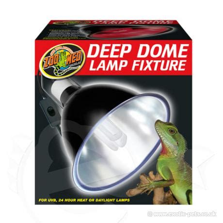 zoo med deep dome cl l zoo med deep dome l fixture extra long reflector dome