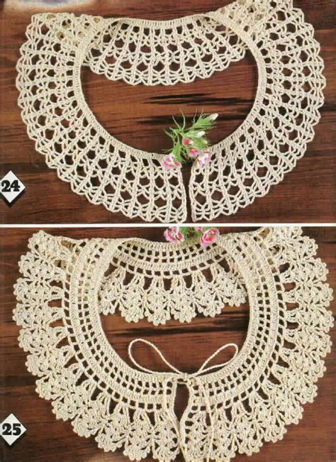 pattern crochet lace collar free crochet collar patterns free crochet patterns