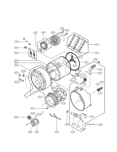 lg front load washer parts diagram front load washer lg front load washer parts diagram