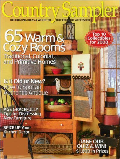 country decor magazines country slers decorating ideas magazine subscriptions